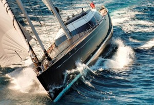 Sailing Yacht Kokomo III - Underway at Sea